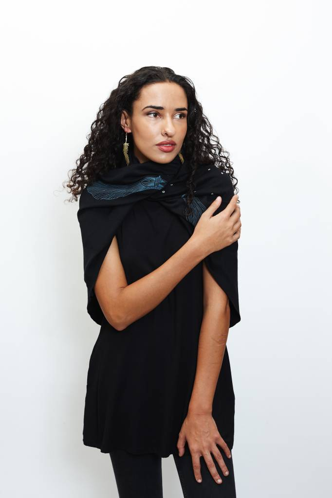 Cowly Capelette (Black)
