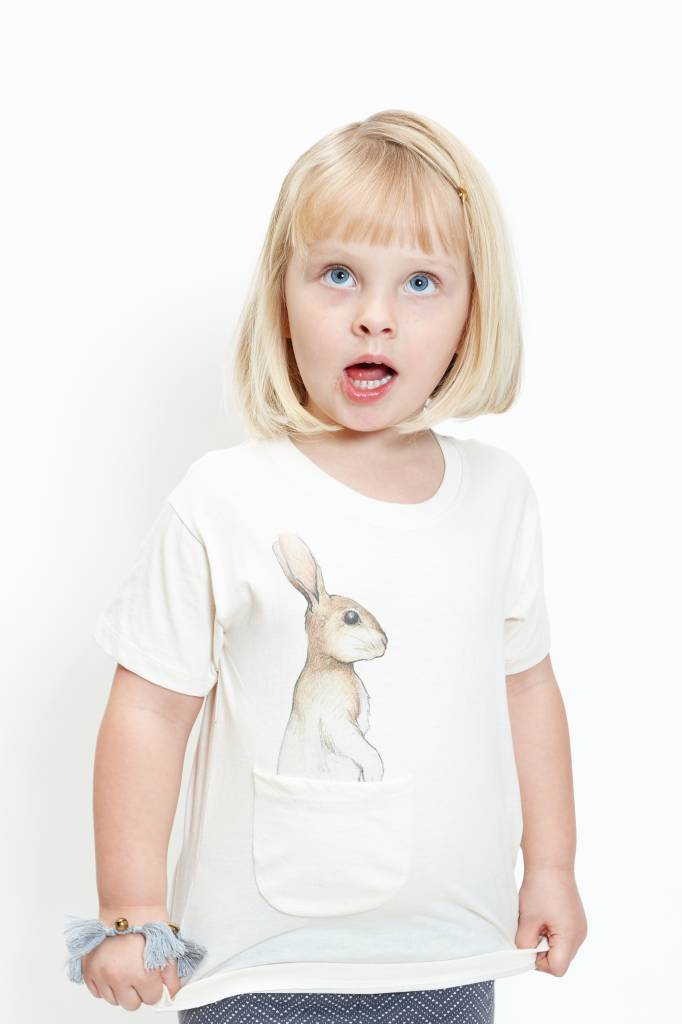 Beloved Bunny Pocket Tee