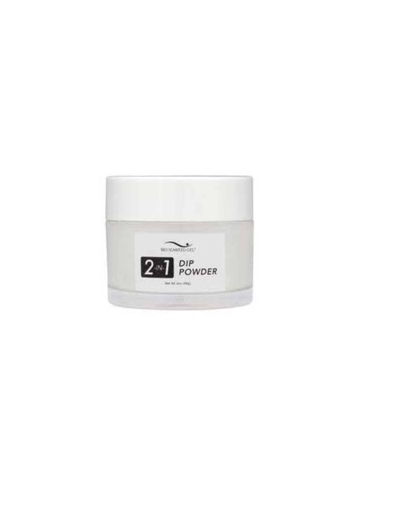 Bio Seaweed Gel Bio Seaweed Gel 2-in-1 Dip Powder 01 White Gel 56g