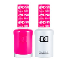 DND Duo Gel Matching Color - 639 Exotic Pink