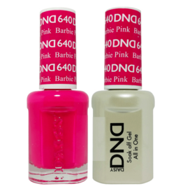 DND 640 Barbie Pink - DND Duo Gel + Lacquer
