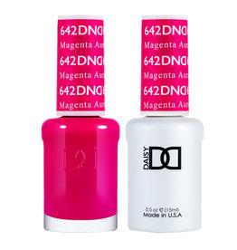 DND 642 Magenta Aura - DND Duo Gel + Lacquer