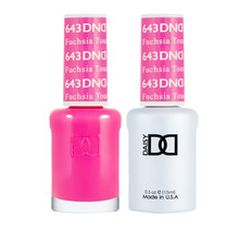 DND Duo Gel Matching Color - 643 Fuschsia Touch
