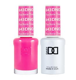 DND 643 Fuschsia Touch - DND Duo Gel + Lacquer