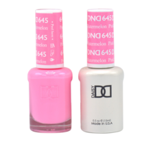 DND Duo Gel Matching Color - 645 Pink Watermelon