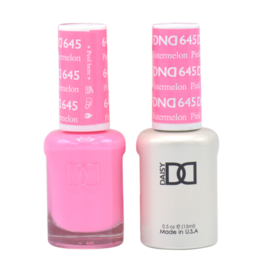 DND 645 Pink Watermelon - DND Duo Gel + Lacquer