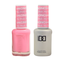 DND Duo Gel Matching Color - 646 Shy Blush