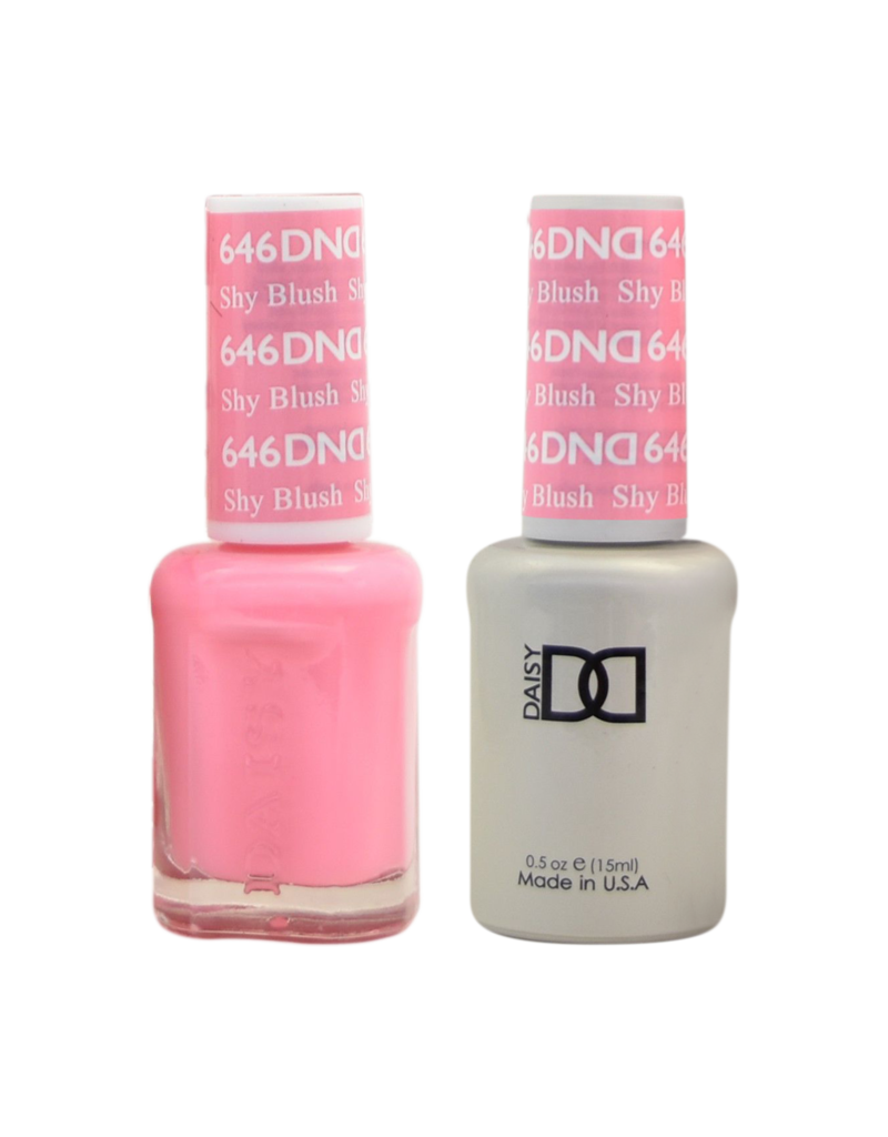 DND 646 Shy Blush - DND Duo Gel + Lacquer