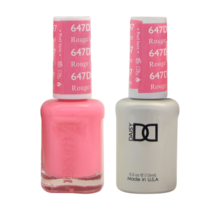 DND Duo Gel Matching Color - 647 Rouge Couture