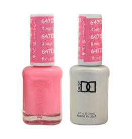 DND 647 Rouge Couture - DND Duo Gel + Lacquer