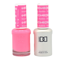 DND Duo Gel Matching Color - 648 Straberry Bubble