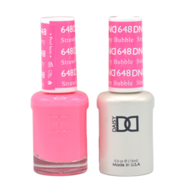 DND 648 Straberry Bubble - DND Duo Gel + Lacquer