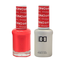DND Duo Gel Matching Color - 649 Orange Creamsicle