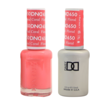 DND Duo Gel Matching Color - 650 Foral Coral