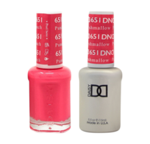 DND Duo Gel Matching Color - 651 Punch Marshmallow