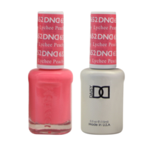 DND Duo Gel Matching Color - 652 Lychee Peachy