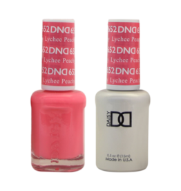 DND 652 Lychee Peachy - DND Duo Gel + Lacquer