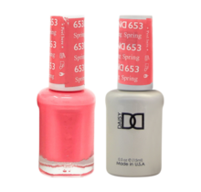 DND Duo Gel Matching Color - 653 Spring Fling
