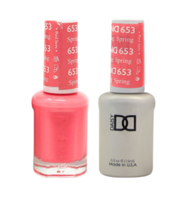 DND 653 Spring Fling - DND Duo Gel + Lacquer