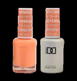 DND 654 Pumkin Spice - DND Duo Gel + Lacquer