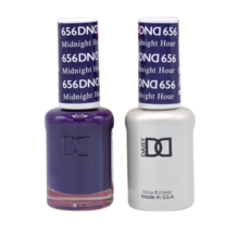 DND Duo Gel Matching Color - 656 Midnight Hour