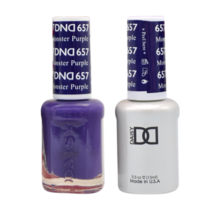 DND Duo Gel Matching Color - 657 Monster Purple