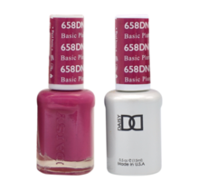 DND Duo Gel Matching Color - 658 Basic Plum