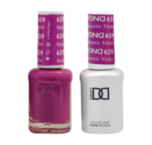 DND Duo Gel Matching Color - 659 Majestic Violet