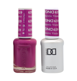 DND 659 Majestic Violet - DND Duo Gel + Lacquer