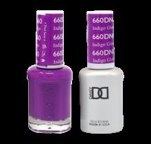 DND Duo Gel Matching Color - 660 Indigo Glow