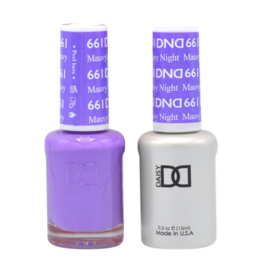 DND 661 Mauvy Night - DND Duo Gel + Lacquer