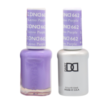 DND Duo Gel Matching Color - 662 Kazoo Purple