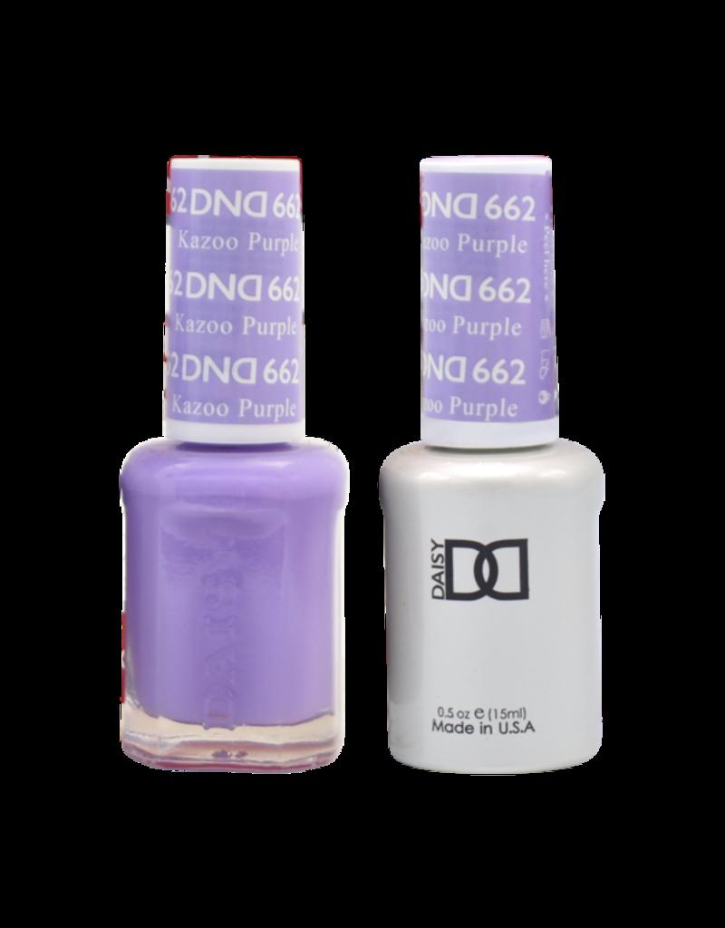 DND 662 Kazoo Purple - DND Duo Gel + Lacquer