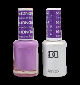 DND 663 Lavender Pop - DND Duo Gel + Lacquer