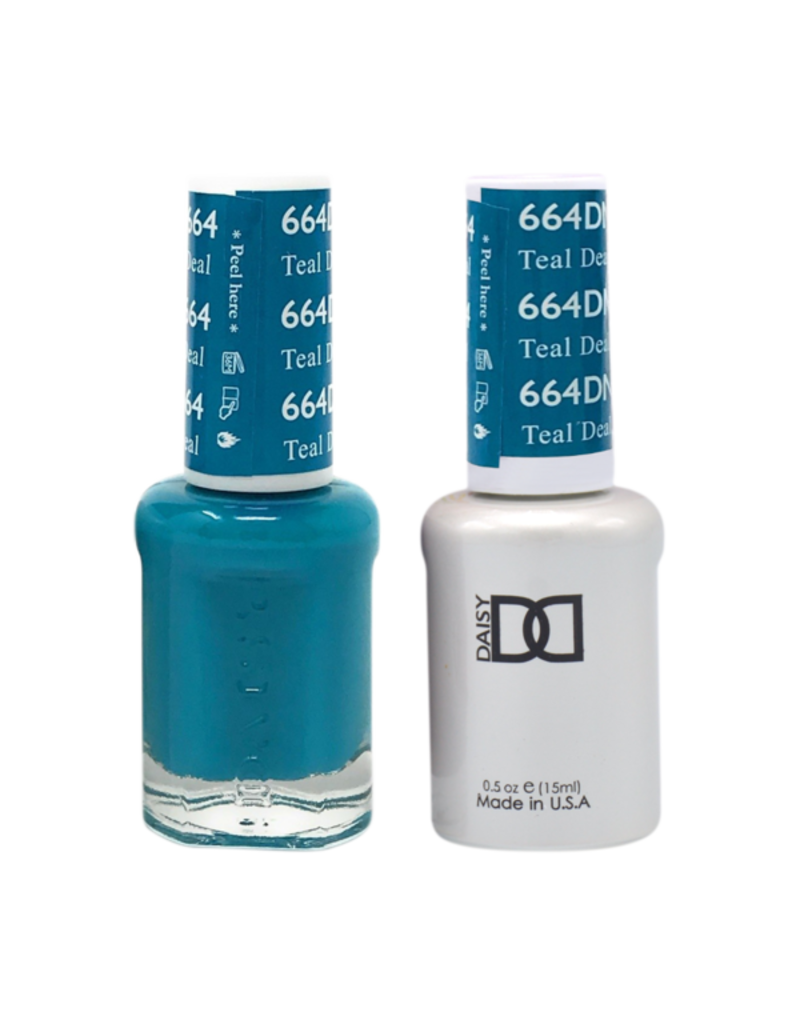 DND DND Duo Gel Matching Color - 664 Teal Deal