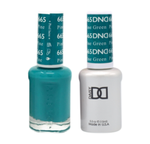 DND Duo Gel Matching Color - 665 Pine Green