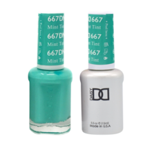 DND Duo Gel Matching Color - 667 Mint Tint