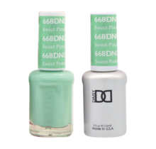 DND Duo Gel Matching Color - 668 Sweet Pistachia