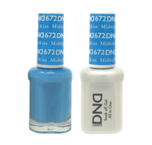 DND Duo Gel Matching Color - 672 Midnight Kiss