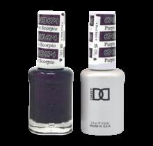 DND Duo Gel Matching Color - 674 Purple Scorpion