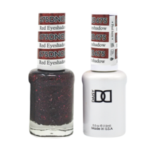 DND Duo Gel Matching Color - 675 Red Eyeshadow