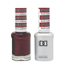 DND 678 Red Louboutin - DND Duo Gel + Lacquer