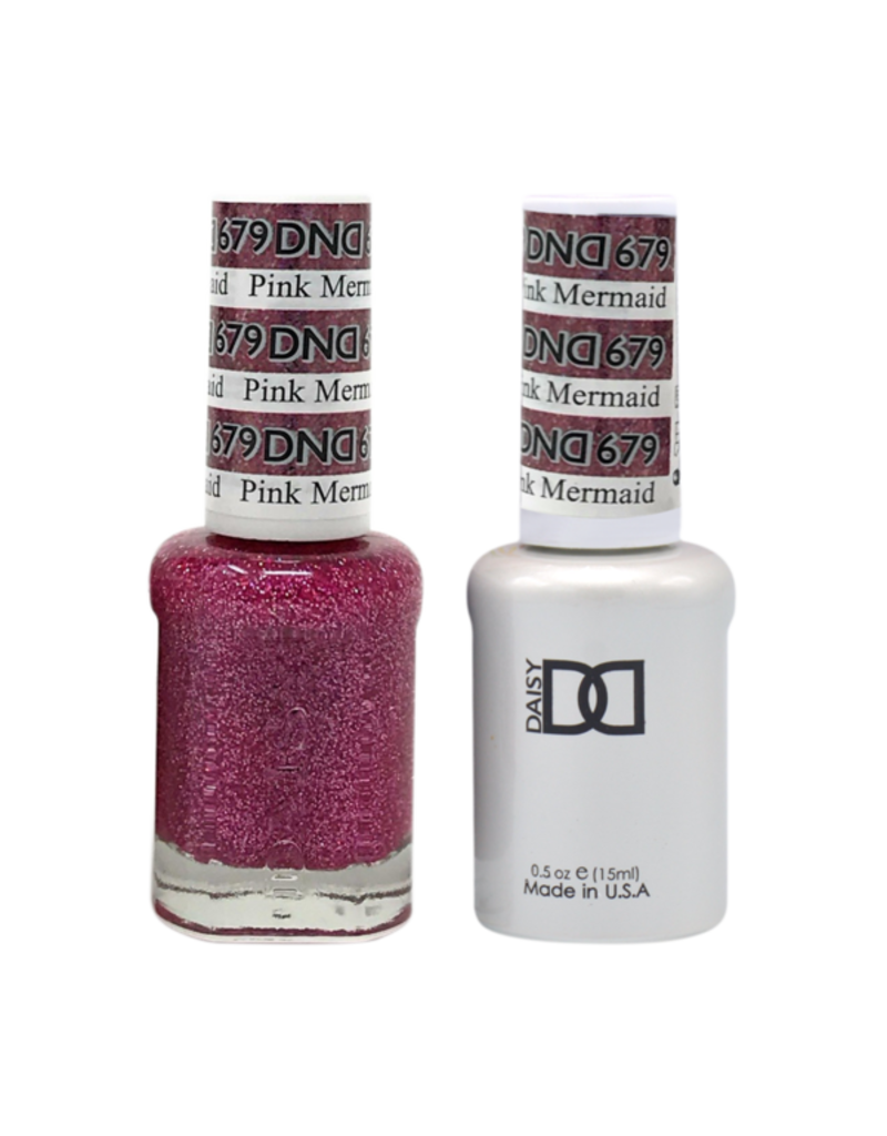 DND 679 Pink Mermaid - DND Duo Gel + Lacquer