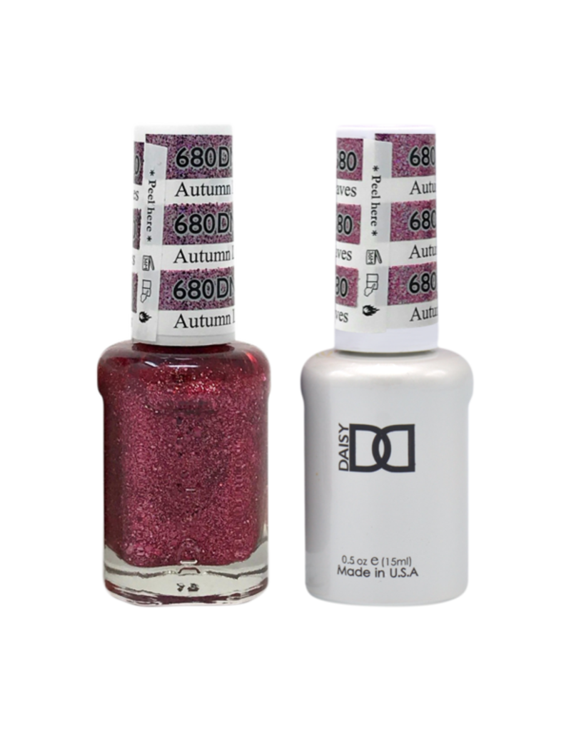 DND 680 Autumn Leaves - DND Duo Gel + Lacquer
