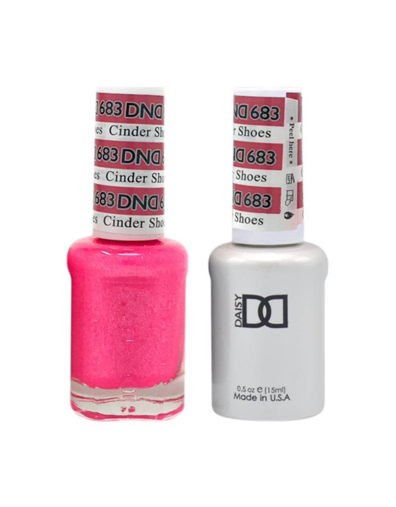 DND 683 Cinder Shoes - DND Duo Gel + Lacquer