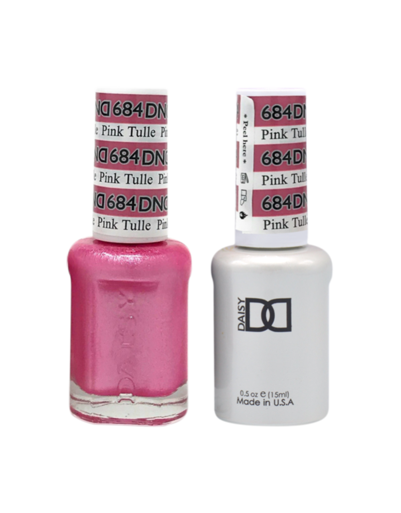 DND 684 Pink Tulle - DND Duo Gel + Lacquer