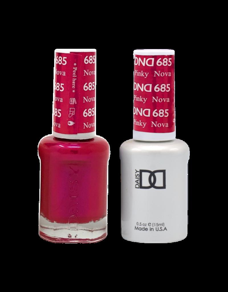 DND 685 Nova Pinky - DND Duo Gel + Lacquer