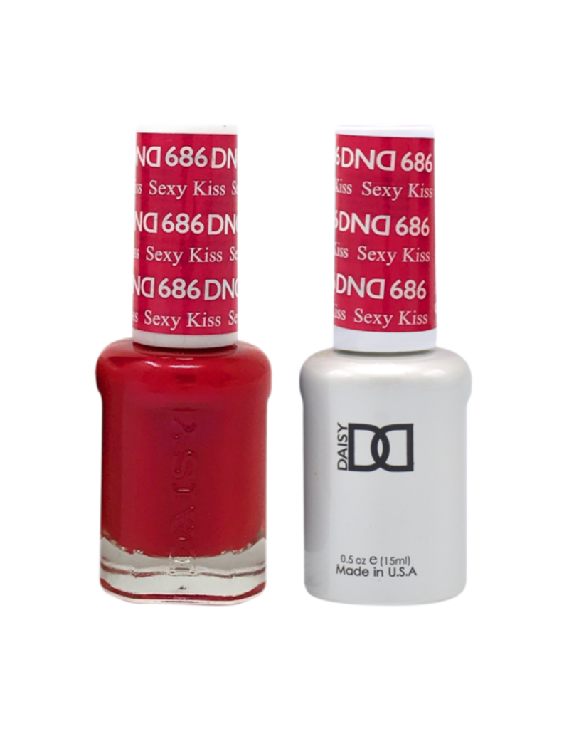 DND 686 Sexy Kiss - DND Duo Gel + Lacquer