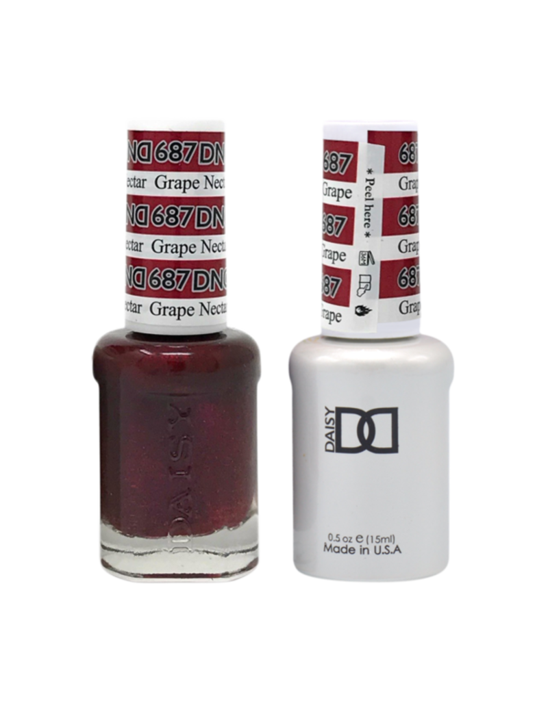 DND DND Duo Gel Matching Color - 687 Grape Nectar