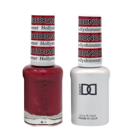 DND 688 Hollyshimmer - DND Duo Gel + Lacquer